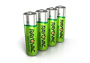 rechargeable batteries 3 pack