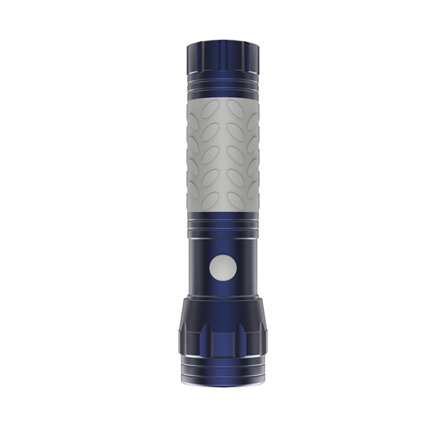 Brite Essentials 3AAA LED Glow in the dark Flashlight