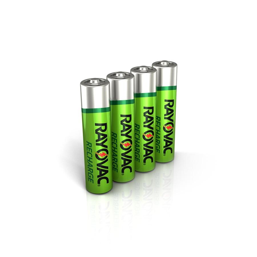 Recharfge AAA batteries image