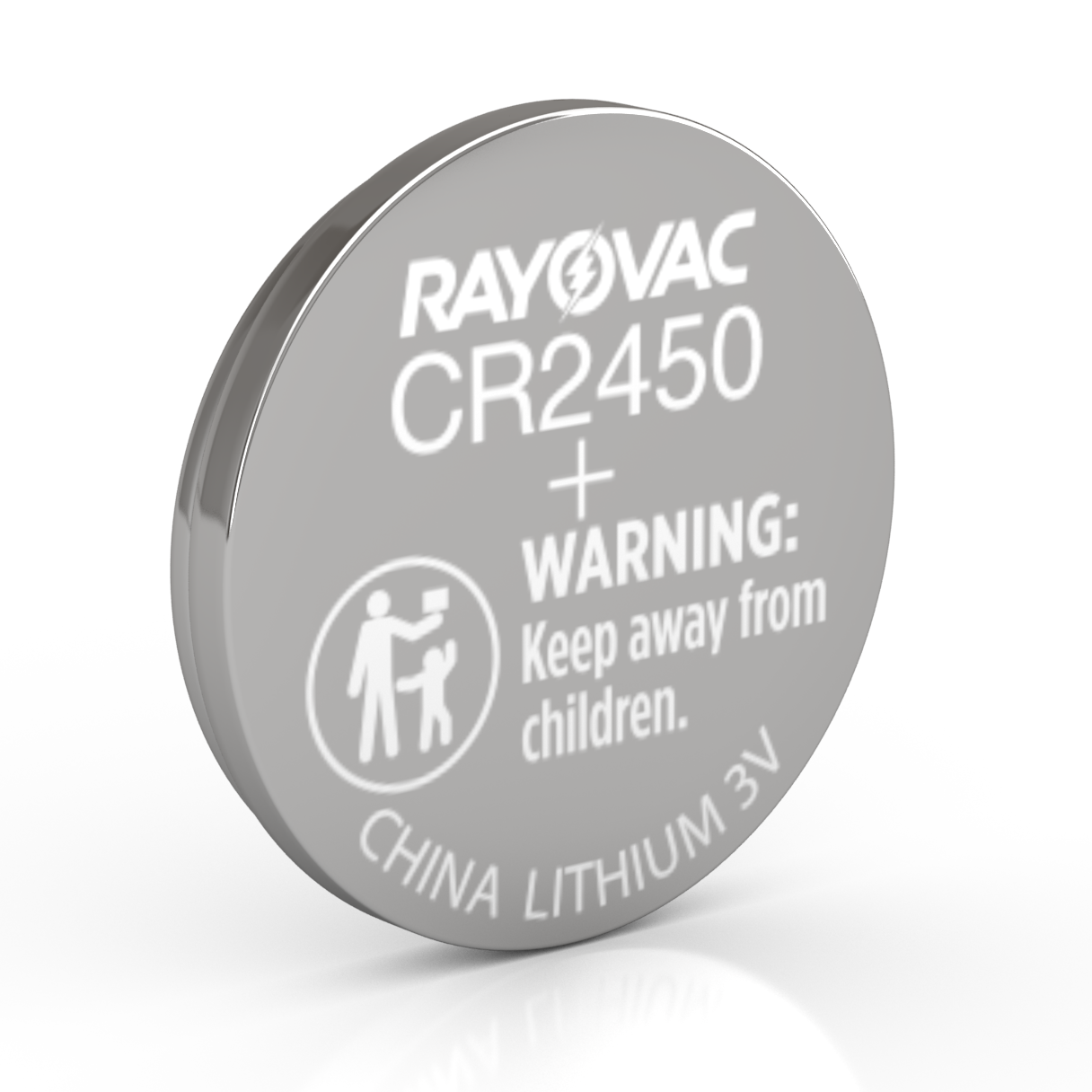 CR2450 Lithium Coin Cell Battery image